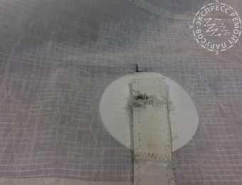 Будни мастерской - Ремон стакселя